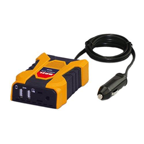 BAL ( 大橋産業 ) DC/ACインバーター 矩形波 DC12V車専用 定格出力:120W 2802