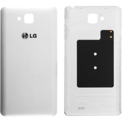 Original LG tapa para Optimus LG D605 L9 II - white/Blanco (tapa de batería, batería cubierta, parte trasera, back-cover) - ACQ86621701