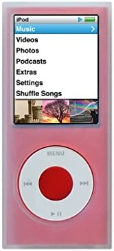 Silicone Case for iPod Nano 4th Generation Clear Replacement Part from Complete TuneBand Package product image