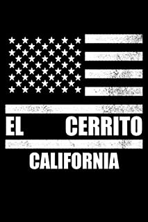 El Cerrito, California: Notebook - Diary - Journal - 110 pages