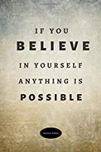 If You Believe In Yourself Anything Is Possible Success Portal: Personal Calendar Of Important Events  Reminder – The Notebook, Planner  Monthly & ... Journal 118 Pages 6
