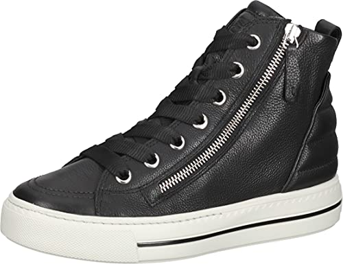 Paul Green Sneaker 5099-009, Glattleder, Schwarz, Damen EU 6,5/40