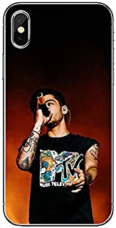 Inspired by Zayn Malik Phone Case Compatible With Iphone 7 XR 6s Plus 6 X 8 9 Cases XS Max Clear Iphones Cases TPU - Rise- Cutout- Swift- Sweatshirt- Sweatshirt- 32991628856