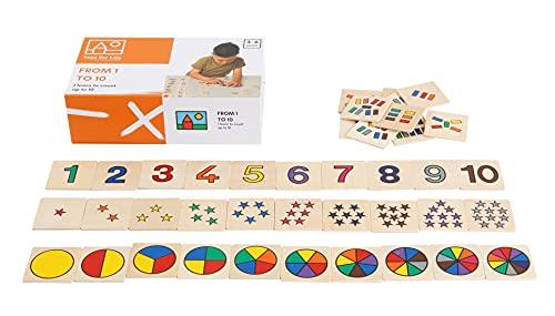 Toys for Life   von 1 bis 10   Lehrmaterialien Mathematik   Mathematik   Ab 36 Monate   Bis 72 Monate