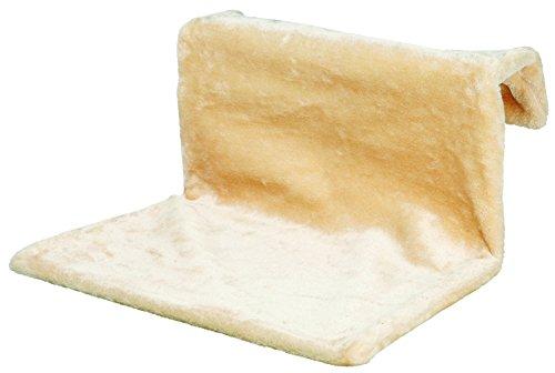 Trixie 43201 Liegemulde für Heizkörper, Plüsch, 48 × 26 × 30 cm, beige