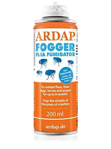 ARDAP Fogger Flea Fumigator 200ml | Insect and bug killer for household and premises, Immediate and Long lasting effect | Killer Bomb Room Fogger | Made in Germany