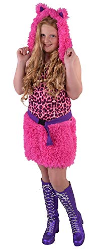 M216020-164 - Disfraz infantil para nia, diseo de leopardo, gatito, gato y gato, talla 164