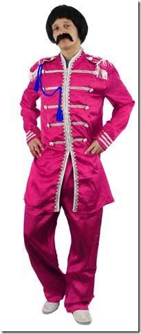 ILOVEFANCYDRESS Disfraz DE Sargento DE Pop Rosa COSTUMA TEMATICO(XL)
