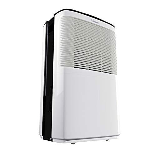 Deumidificatore 15L / Giorno, umidità costante Intelligente, temporizzatore, impostazione dell'umidità 40% -80%, Molto Adatto per la deumidificazione di Grandi Aree in Case, uffici, cucine, scantina