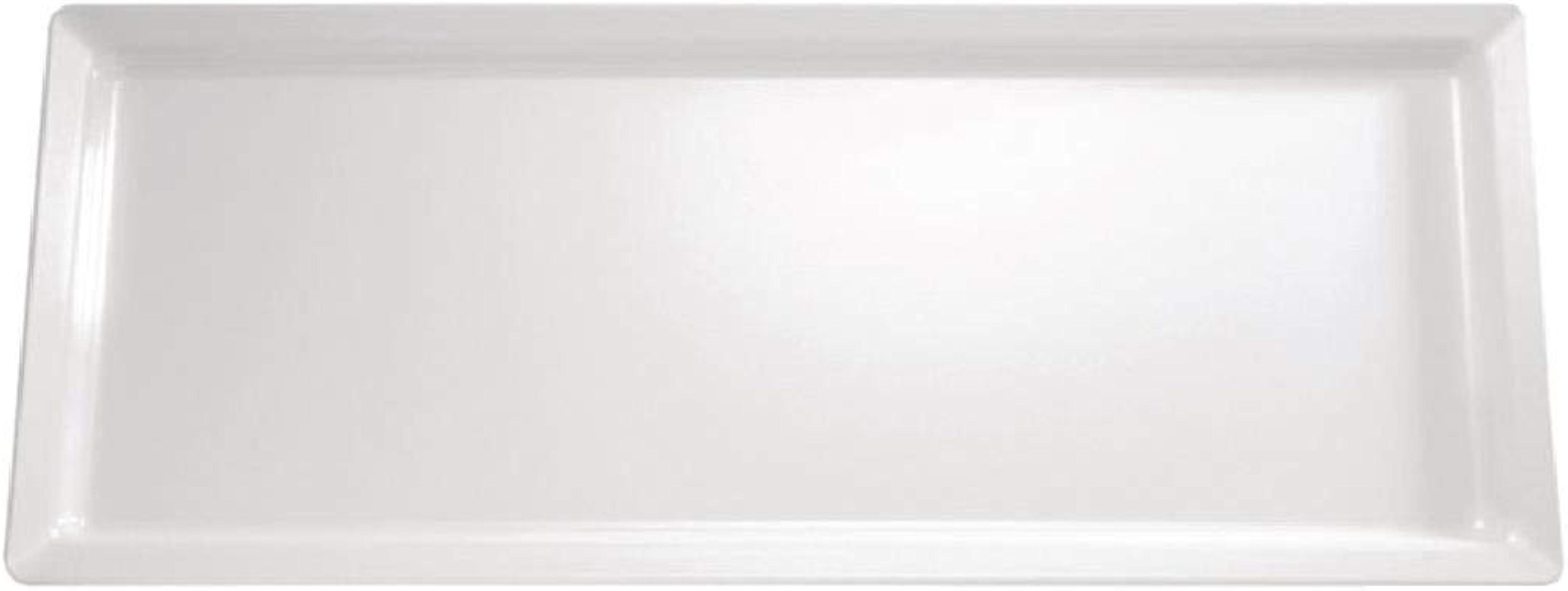 Gf130APS pur Mélamine Plateau Rectangulaire, 650mm, blanc
