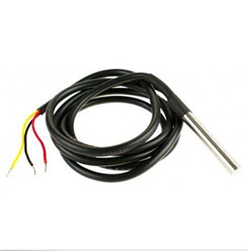 Vktech DS18b20 Waterproof Temperature Sensors Temperature Transmitter (5pcs)
