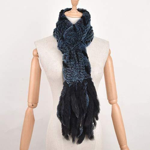 WEIYIM Winter Schal Gras Schal Plaid Stricken Wollschal Herbst Und Winter Warmen Hals Schal Achselzucken Quaste Schal