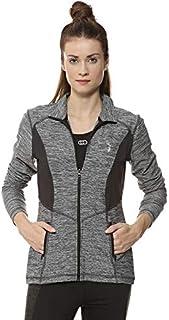 Campus Sutra Women High Neck Sports Jacket
