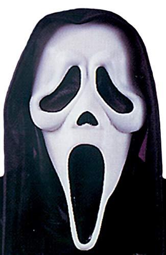 Femmes Hommes Visage de Fantôme Officiel Scream Halloween Masque Visage Accessoire Déguisement