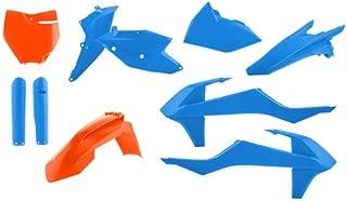 Acerbis 2421061415 Limited Edition Full Plastic Kit (Blue and Orange)