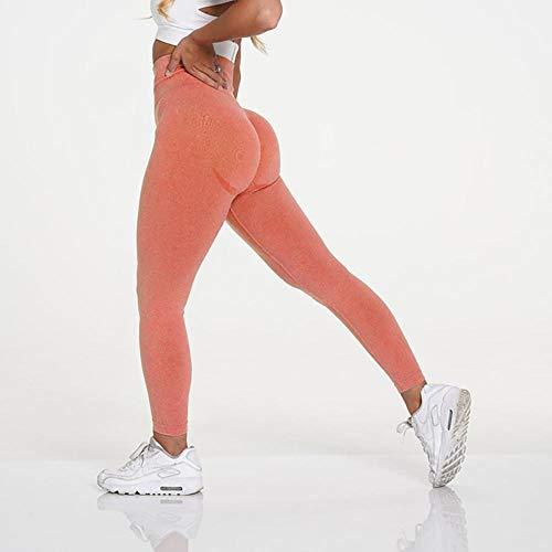 B/H Femme Pantalon de Yoga Longue Chic,Legging sans Couture Taille Haute,Pantalon de Yoga Sexy élastique de Remise en Forme Push up-09_S,Super Doux Pantalon de Yoga Extensible