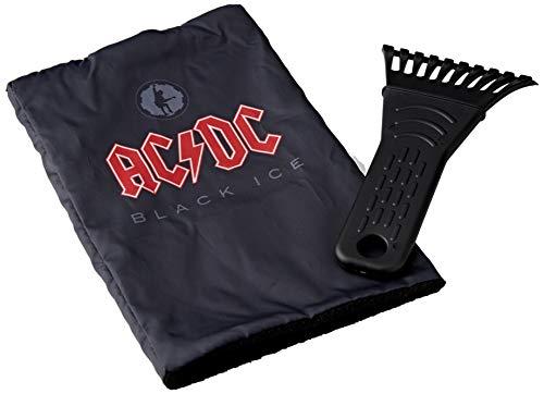 ACDC ADWAA270 Auto Eiskratzer Eisschaber schwarz mit Handschuh