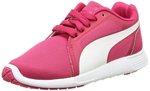 PUMA Unisex-Kinder ST Trainer Evo Jr Low-Top, Pink (Rose red-White 04), 38 EU