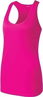 Ladies Athletic Moisture Wicking Racerback Tank Tops Workout Shirts XS-4XL