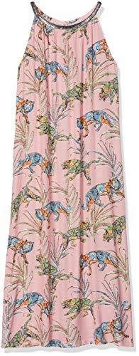 0039 Italy Damen Jocelyn Eve Kleid, Mehrfarbig (Rosa Print 0001), 38 (Herstellergröße: M)