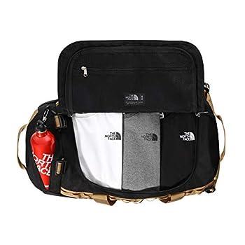 THE NORTH FACE - Sac de Voyage Gilman - Sac Sportif Durable avec Bandoulières - Black/British Khaki, Taille S