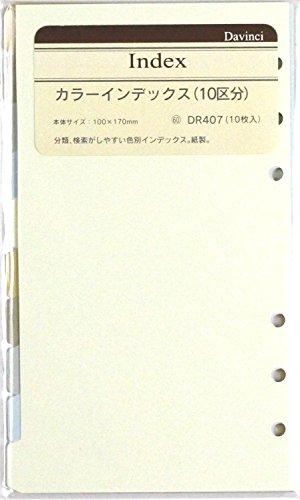 レイメイ藤井 ダヴィンチ リフィル カラーインデックス 聖書 DR407