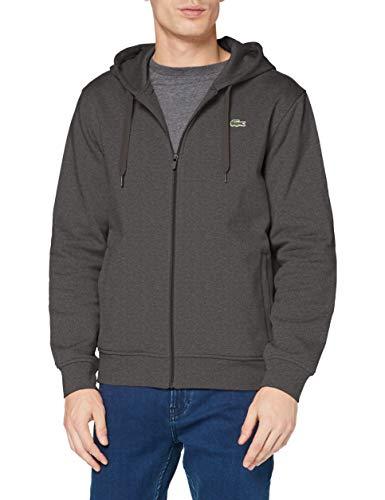 Lacoste Sport Herren SH1551 Pullover, Bitume Chine/Graphite Som, 4XL
