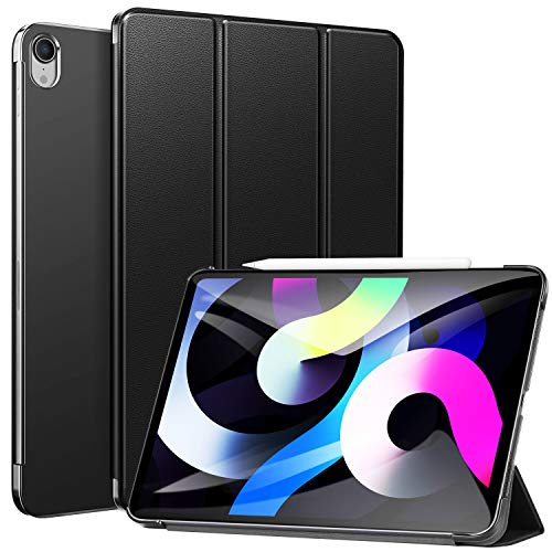 """Ztotop Case for 2018 iPad Pro 11"""" 1st Gen (Old Model) -Slim Lightweight Trifold Stand Case with Auto Wake/Sleep + Rugged Translucent Back -Black"""