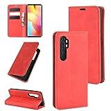 [CNX] Xiaomi Mi Note 10 Lite Phone Coque, Xiaomi Mi Note 10 Lite Coque Housse Flip Cuir PU + Etui...