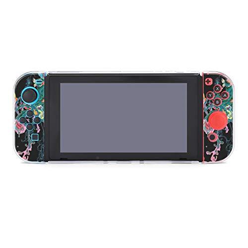 Schutzhülle für Nintendo Switch (kratzfest), kompatibel mit Switch und Joy-Con Controllern, Split-5-teilig, weiche Spielekonsolen-Hülle, James Jean Lotus War