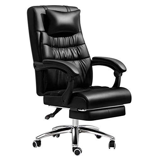 XLST Ergonomisches Bürostuhl PC Stuhl Chefsessel Höhenverstellbarer Drehstuhl, Mit Massagefunktion Computerstuhl Einstellbare Kopfstütze Und Lendenstütze Belastbar Bis 330Kg