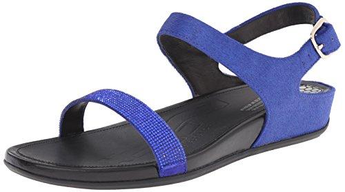 Fitflop Fitflop Banda Damen Sandalen Blau, Blau, 39 EU