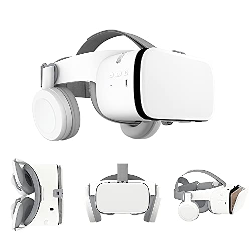 Peiloh VR Headset Compatible with 4.7-6.3 inch iPhone and...