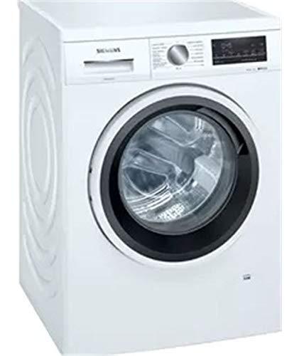 Siemens WU14UT71ES Lavatrice Libera installazione Caricamento frontale Bianco 9 kg 1400 Giri/min A+++-30%