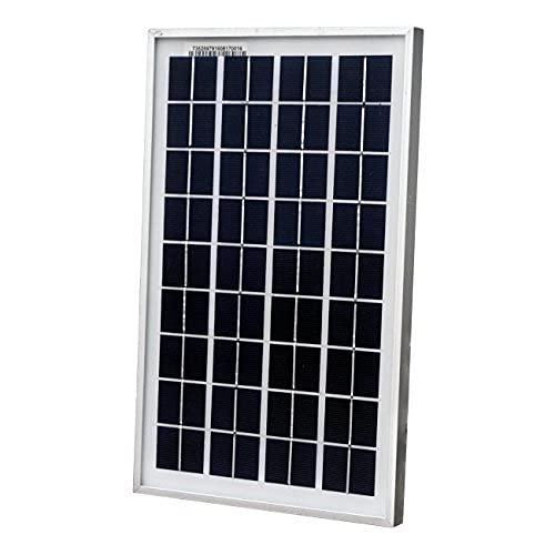 Pannello solare, ecologico ed affidabile 10 W, 12 Volt, caricabatterie da 10 W