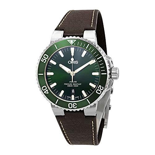 Oris Aquis automatico verde quadrante mens orologio...