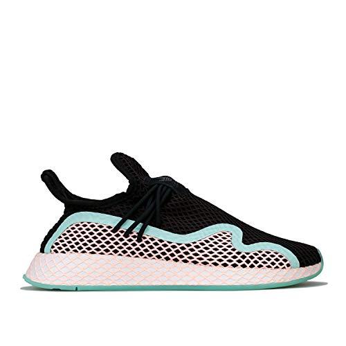 Adidas DEERUPT S, Zapatos de Escalada Hombre, Multicolor (Negbás/Narcla/Ftwbla 000), 36 2/3 EU