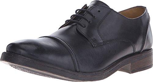 Base Dales Chaussures à lacets en cuir Oxford noir pour homme - Noir - Noir , 44 EU