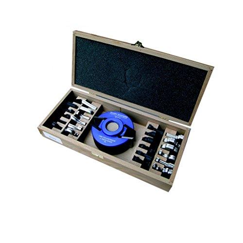 Flury Profilmesserkopf 100x40 50x30 12 Messer Abweiser 1 Messerkopf - Profilmesser mit den gängigsten Profilmessern