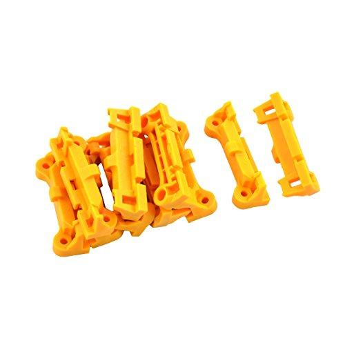 AM2 AM3 FM1 FM2 FM2+ CPU Fan Retainer Bracket Base Parts 10pcs Yellow