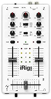 IK Multimedia iRig MIX mobile mixer for iPhone/iPod touch/iPad and Android devices