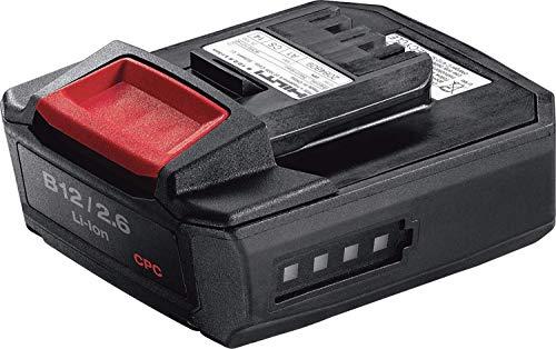 Hilti 2077976 B 12/2.6, 12 V, Schwarz/Rot