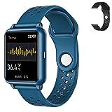Stayoung Reloj Inteligente, Smartwatch de Temperatura Corpora 1.3inch,Reloj Deportivo Bluetooth Impermeable IP67