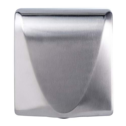 VALENS Hand Dryer, Bathroom Hand Dryer Commercial and Household, Stainless Steel Cover 1400W(Brushed)