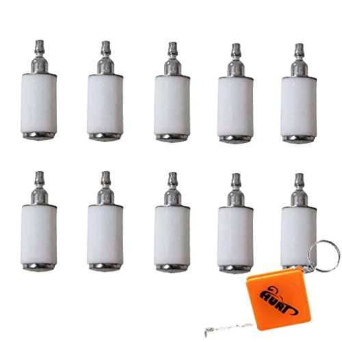 HURI 10 Stück 530095646 Vergaser Zubehör Craftsman Trimmer Kettensäge Benzinfilter