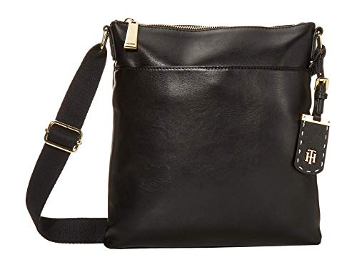 Tommy Hilfiger Julianne 1.5 - North/South Crossbody - Smooth PVC Black One Size