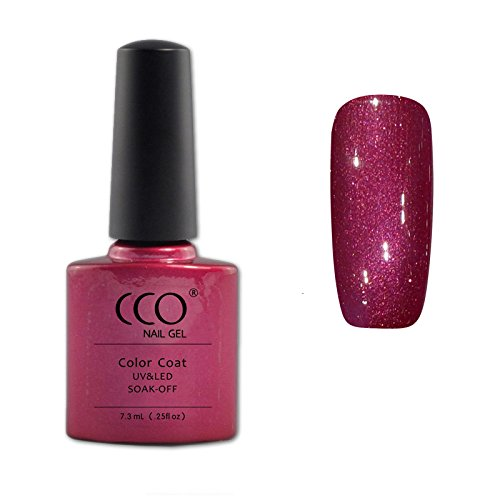 CCO UV LED Soak Off Gel Nagellak, Red Baroness