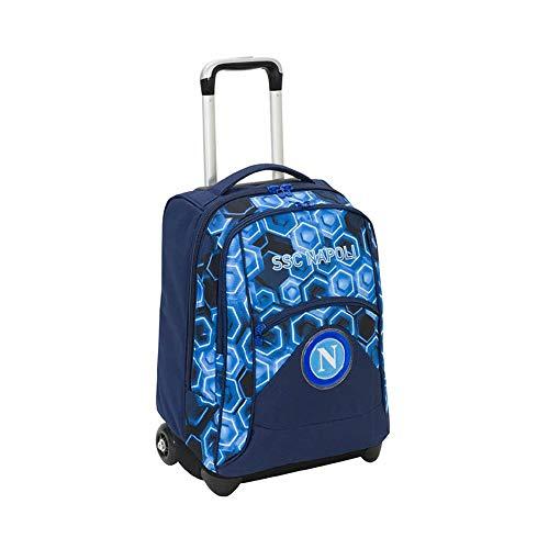 ssc napoli Forza Napoli Set de útiles Escolares 47 Centimeters Azul (Blue Deep)
