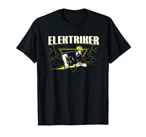 Elektriker Strom Elektroniker Elektrizität Geschenk T-Shirt