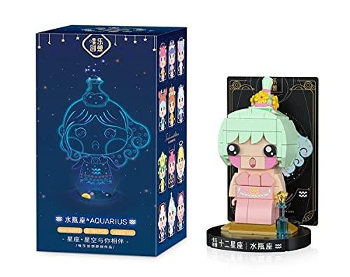 Block Toy Micro Mini bloques de doce constelaciones, miniedificios, juego de microladrillos, juguete de rompecabezas 3D, regalo para niños y adultos, J